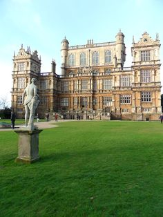 Statue in the grounds of Wollaton hall, also know and Wayne Manor from The Dark Knight Rises. Nottingham , England