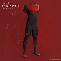Game of Thrones Football Kits