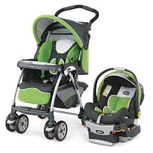 """Chicco Cortina Travel System Stroller - Midori - Chicco - Babies """"R"""" Us- 349.99 love the GREEN"""