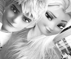 Jack Frost and Elsa. Jack Frost Und Elsa, Jack And Elsa, Disney Art, Disney Movies, Disney Adoption, Princesas Disney Dark, Cute Blue Wallpaper, Princesse Disney Swag, All Marvel Movies