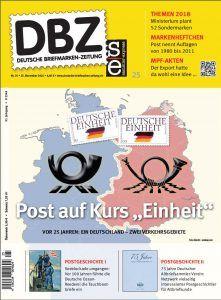 Informativ und aktuell: DBZ 25/2016 http://www.deutsche-briefmarken-zeitung.de/2016/11/24/informativ-und-aktuell-dbz-252016/