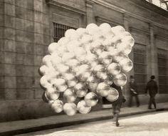 Balloon seller. Argentina.