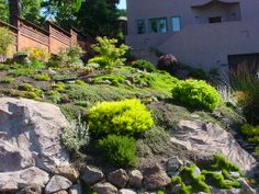 A real nearby home that inspired the description of the landscaping surrounding the ex-love's home.