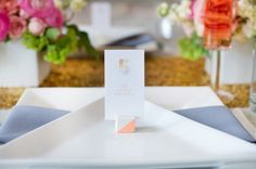 Geometric wedding inspiration | Real Weddings and Parties | 100 Layer Cake