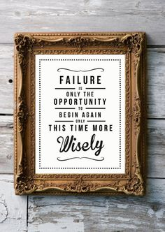Think of all the things that didn't work right at the first attempt...would we be as passionate about things/people if they came too easy?