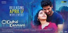 Ok Kanmani - a light-hearted, youthful & breezy romance with a lot of Mani Ratnam moments..definitely worth a watch :)