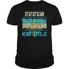 Awesome Tee STATISTICIAN T-Shirt