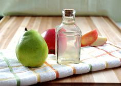 Apple and Pear Infused Gin Recipe - great in martini's!