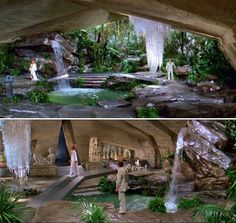 The Green Chamber - Moonraker. Set design by Ken Adam.