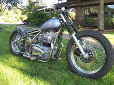 Kawasaki KZ440 bobber motorcycles