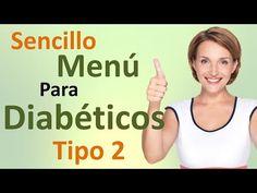 Menú de Dieta Para Diabéticos Tipo 2 DELICIOSO!!! - YouTube