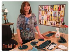 "Recap of Terry McFeely at VDTA With Janome + Filming For ""It's Sew Easy"""