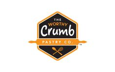 Give & Go   The Worthy Crumb Pastry Co. - Identity by Davis.