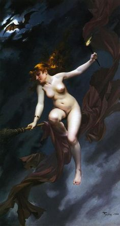Muse of the Night by Luis Ricardo Falero