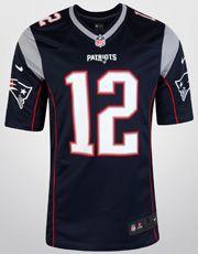 Jersey Nike NFL New England Patriots Nº 12 - Tom Brady