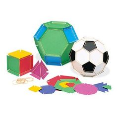elastic geometric models- soccer balls Make a poster to advertise a fundraising event.
