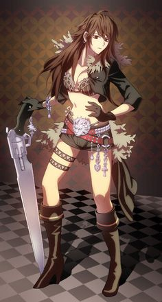 Squall Leonhart (FFVIII) gender bender