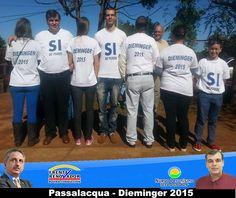 #SiSePuede difundiendo el proyecto: #Passalacqua2015 #Herrera2015 #Dieminger2015 #SiSePuede #Obera #Politica