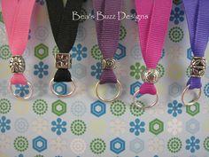 Ribbon Lanyards  Nurse Jewelry  Id Holder  by BeasBuzzDesigns, $6.00