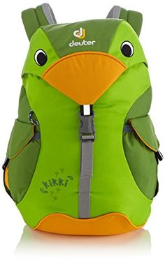 Deuter Kikki Backpack  Kids KiwiEmerald * You can get more details by clicking on the image.