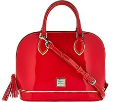 The gorgeous gloss of patent leather is what really sets this Dooney &…