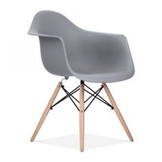 Charles-Eames-Style-DAW-Chair-Retro-Modern-Chairs-Red-White-Black-Grey-Green