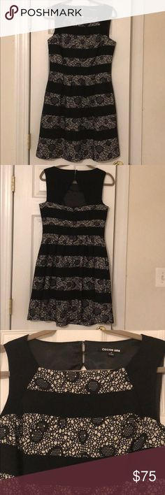 WILLING TO TRADE - Stunning Black/White Dress BNWOT - Black and White Dress - Size 8 - Fits so elegantly ❤ -  Pics doesn't do justice at all - this dress is extremely gorgeous and unique - Thick material - Fully lines - Extremely well made - Approx. measurements in inches:  Bust (17), Waist (15), Length (35) - My entire closet is up for trade/negotiation. If you would like to exchange any item(s) with me, please feel free to send me a message. Thank you in advance 😘 (Local Pick-Up is…