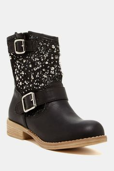 Samantha Rhinestone Stud Boot - I could totally see my niece wearing these!