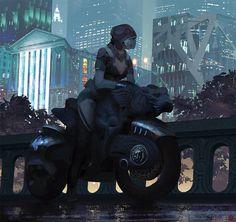Nous vous proposons aujourd'hui de découvrir les oeuvres de Brandon Liao. Cet illustrateur basé à Los Angeles nous emmène principalement dans des univers de science-fiction où la guerre fait rage. Aussi bien ses environnements que ses personnages sont impressionnants. Pour en voir plus, visitez son portfolio et son ArtStation.