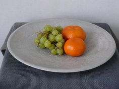 concrete bowl LEOSTEEN low  34 4 by ckleosteen on Etsy