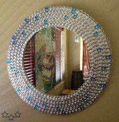 "For a few years not, the idea of making awesome DIY projects with pop tabs has been very ""in"". Pictures of pop tab clothing have gone viral on the Soda Tab Crafts, Can Tab Crafts, Bottle Cap Crafts, Tape Crafts, Pop Top Crafts, Pop Can Tabs, Recycle Cans, Reuse, Repurpose"