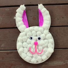 Easter Craft - Paper Plate Bunny