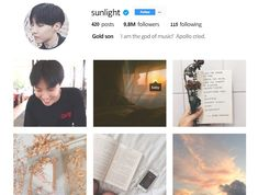 BTS Jhope Instagram Aesthetic Apollo