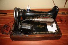 SINGER 1926 SEWING MACHINE MOD. 99 - FULLY FUNCTIONAL- W/BENT WOOD CASE | eBay