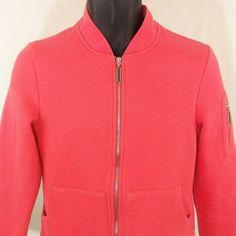 Gear For Sports Jacket Bomber Motorcycle Zipper Pink Womens Size Small EUC #GEARFORSPORTS #BasicJacket