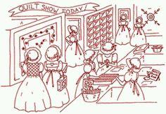 Quilt Show Shopping