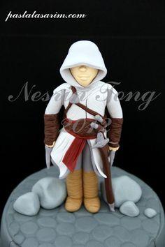 Assassins Creed, 14th Birthday, Boy Birthday, Birthday Cakes, Birthday Ideas, Video Game Cakes, Cakes For Boys, Boy Cakes, Sugar Craft