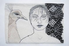 Artist <b>Aino Kajaniemi</b> Weaving Art, Tapestry Weaving, Diy Pillows, Textile Artists, Mixed Media Art, Fiber Art, Needlework, Textiles, Quilts