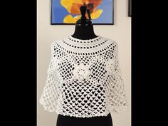 "Crochet: Capa Talla ""S"""