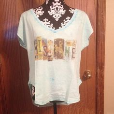 """Spotted while shopping on Poshmark: """"Miss me tee""""! #poshmark #fashion #shopping #style #Miss Me #Tops"""