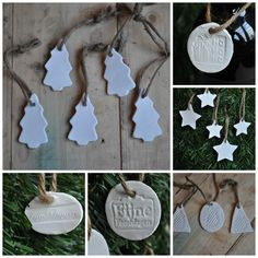 In The House klei label / hanger KERST 2014