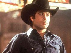 "Not sure if it's the ""cowboy"" thing, Urban Cowboy movie, or just plain ol' John Travolta. Either way, I just LOVE John Travolta! John Travolta, Pulp Fiction, Urban Cowboy Movie, Brooks & Dunn, Sundance Kid, Cowboy Up, Cowboy Baby, Great Movies, Grease"