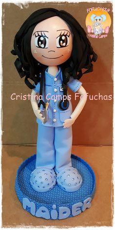 Cristina Camps Fofuchas: FOFUCHA ENFERMERA