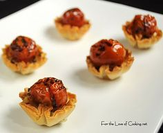 Simple and yummy! For the Love of Cooking » Roasted Tomato and Feta Cheese Mini Tarts