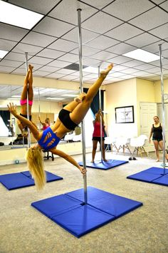 Try pole fitness with your girlfriends! https://www.facebook.com/PonytailsDanceFitnessStudioLlc