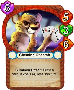Cheating Cheetah - Catamancer - The 100% cat themed game! - Artist: Eric Proctor (TsaoShin)