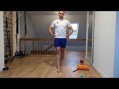 Dynamiczna stabilizacja miednicy - lek na ból pośladka i stawy krzyżowo biodrowe - YouTube Crossfit, Gym, Fitness, Youtube, Teapot, Physical Therapy, Excercise, Youtubers, Youtube Movies