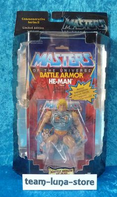 Masters of the Universe Motu Commemorative Battle Armor He Man neu + ovp moc in Sammeln & Seltenes, Figuren, Action-Figuren | eBay
