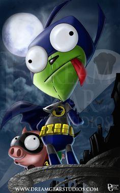 BatGir and Piggy