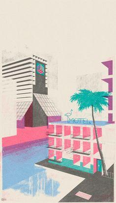Design Matters - Leonie Bos، یک تصویرگر هلندی #illustration #vintage